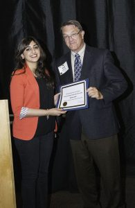 Rishma Johal wins best article award