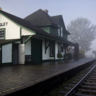 Fort Langley CN Train Station