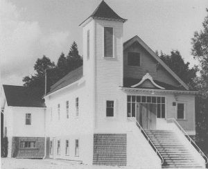 Fraser Valley Buddhist Church. Photo courtesy of Maple Ridge Museum and Archives Collection, P00978.